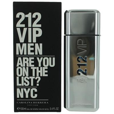Perfume de hombre Carolina Herrera 212 vip men